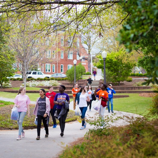 Walking Tour of Clemson's Campus
