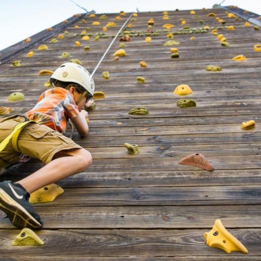 High Adventure Climbing Wall